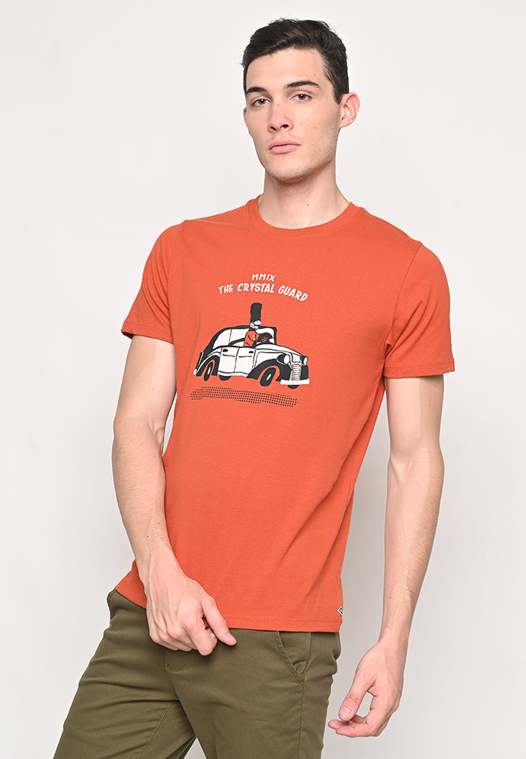 TCG Cabby Brick Tee Red