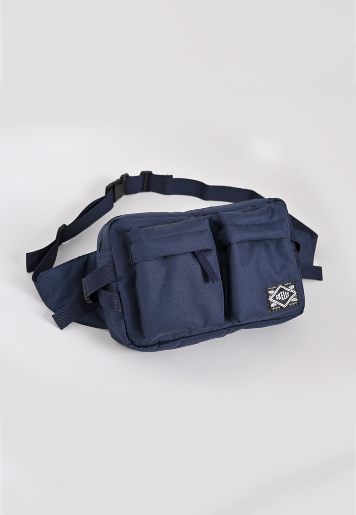 Nylon Body Bag In Navy