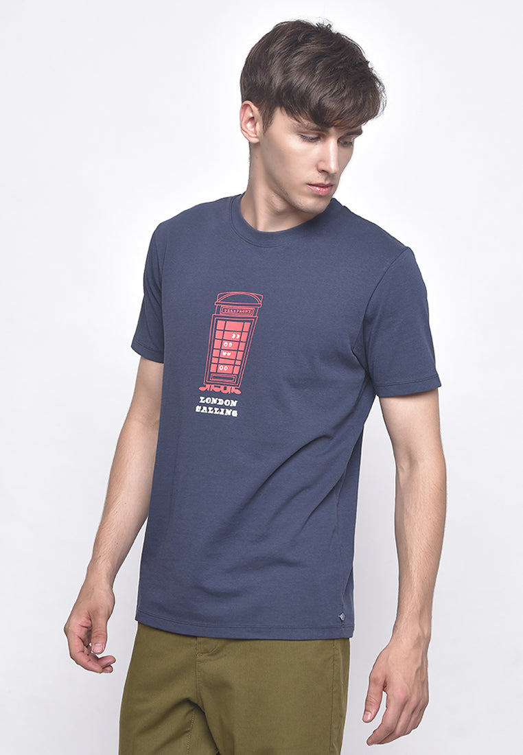 London Eyes Navy T-Shirt