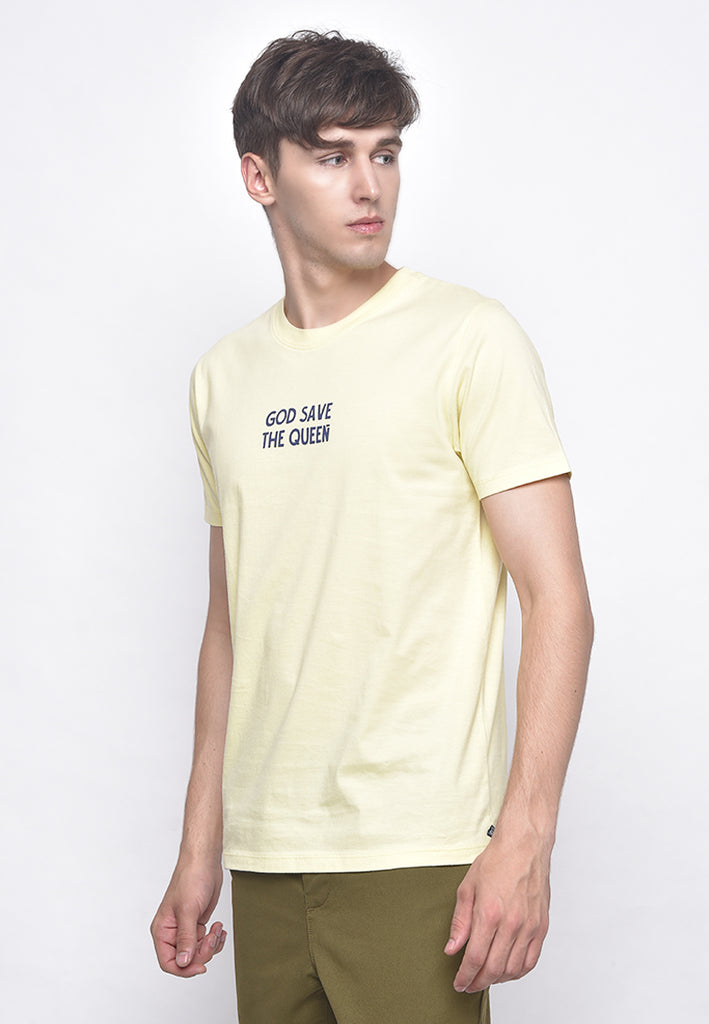The Queen Baby Yellow T-Shirt