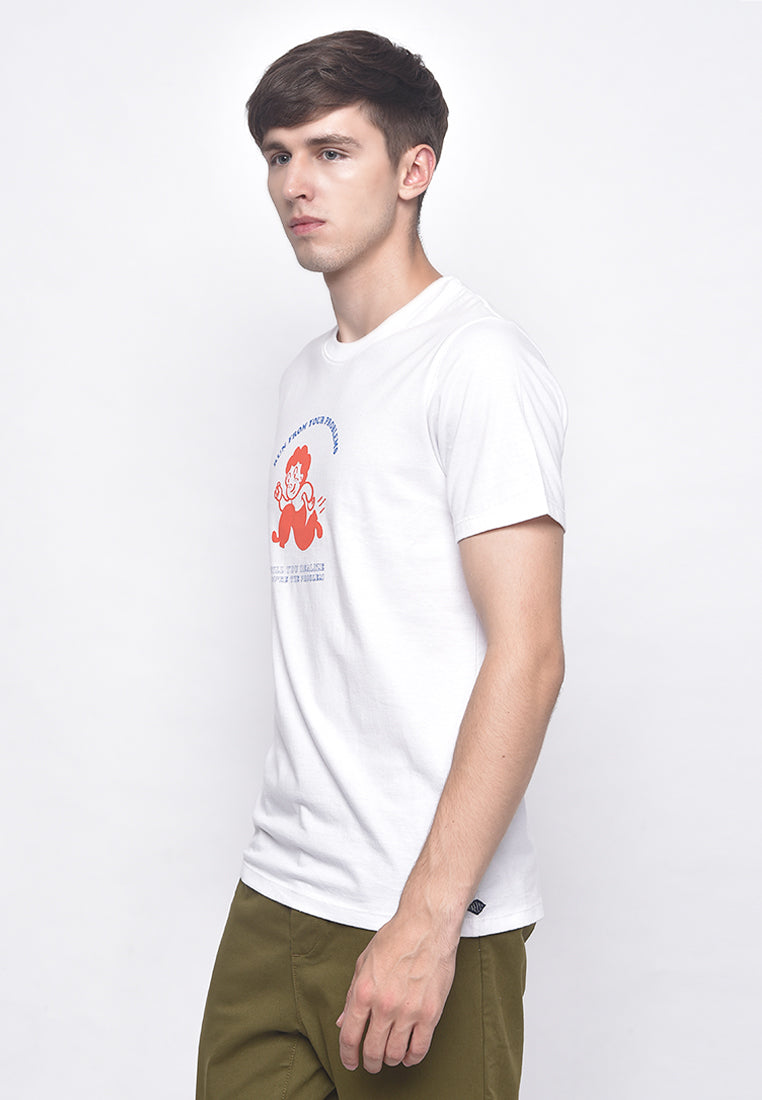 Problem Runner White T-Shirt