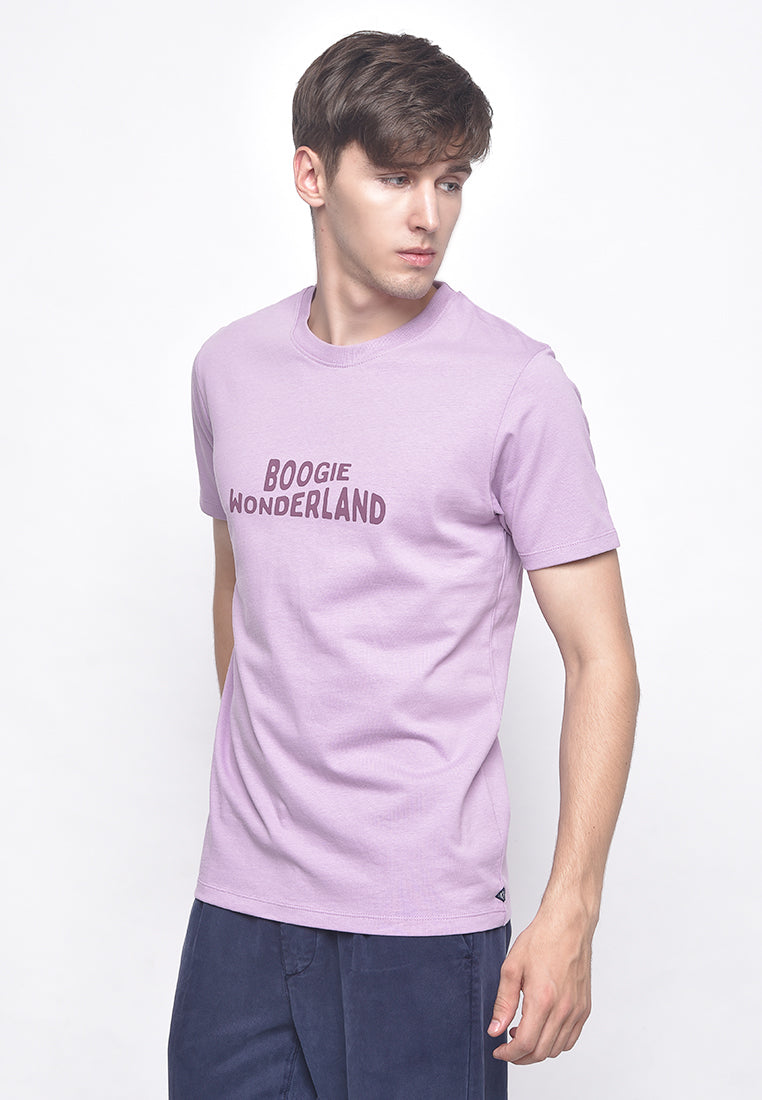 Boogie Wonderland Tee Purple