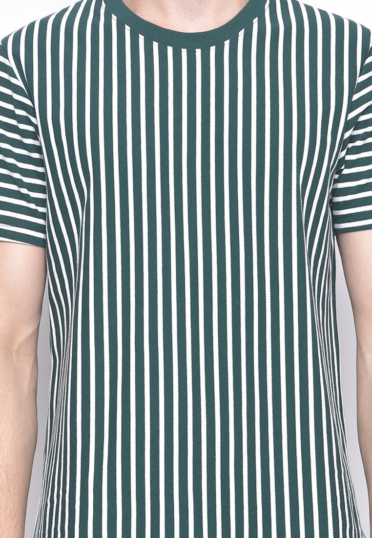 Homer Stripe Green