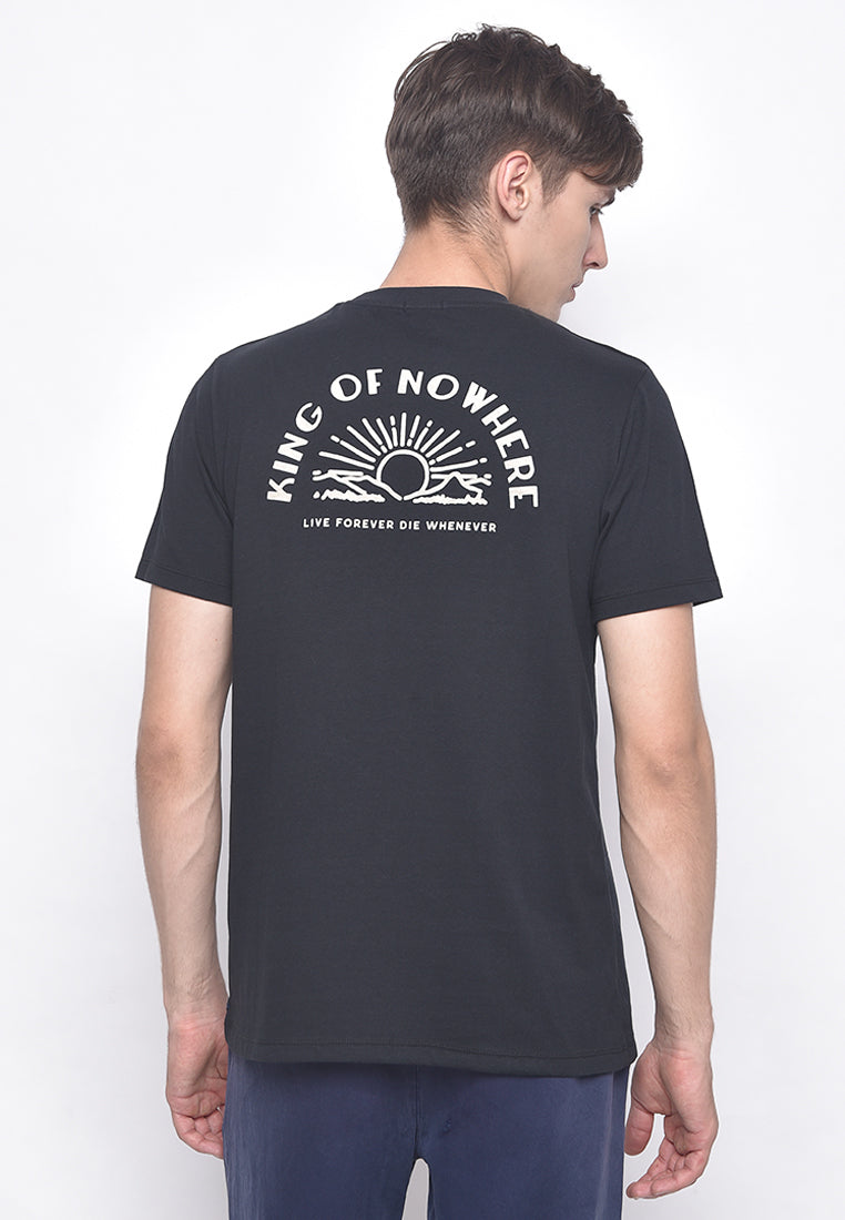 King Of Nowhere Jetblack T-Shirt