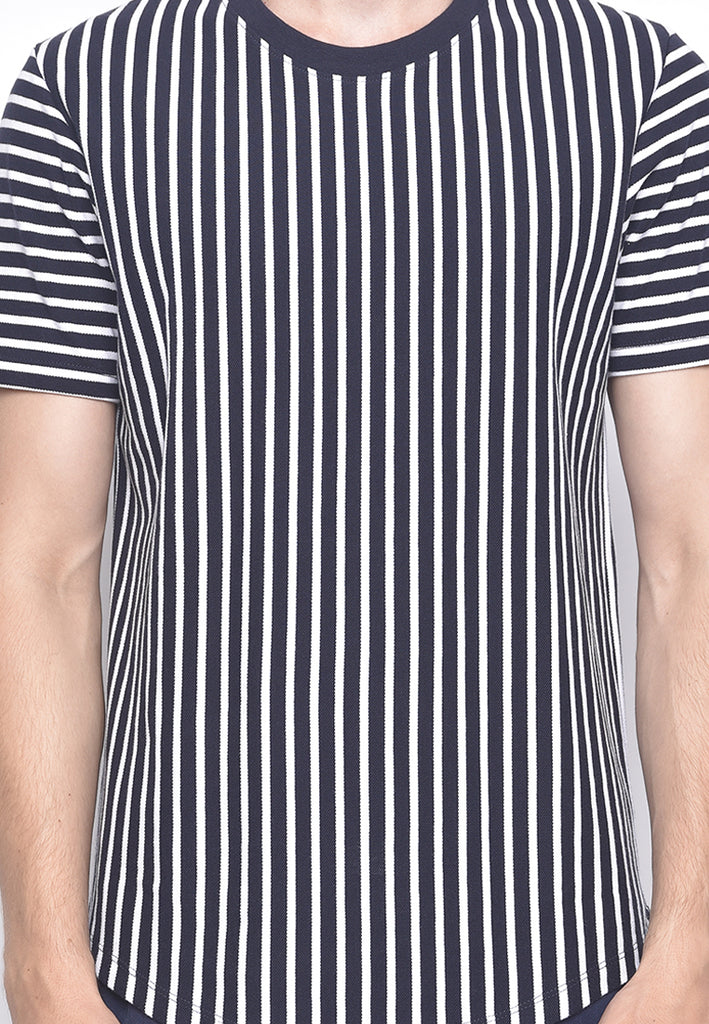 Homer Stripe  In Navy