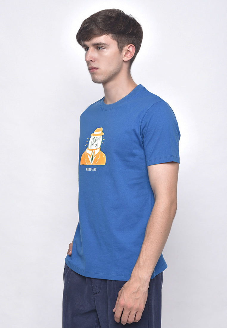 Hard Life Blue T-Shirt