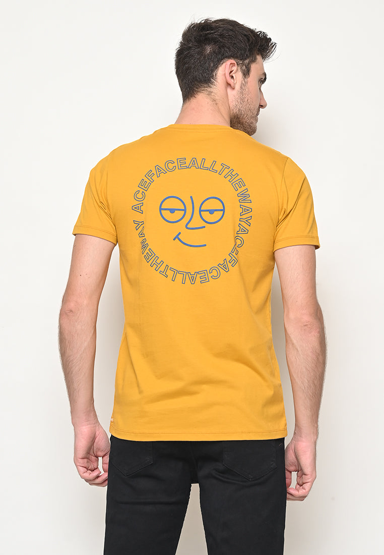 Ace All The Way Tee Yellow