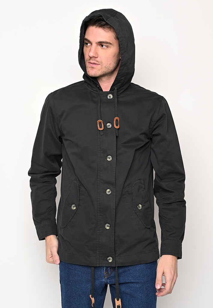 Rainly Parka In Black