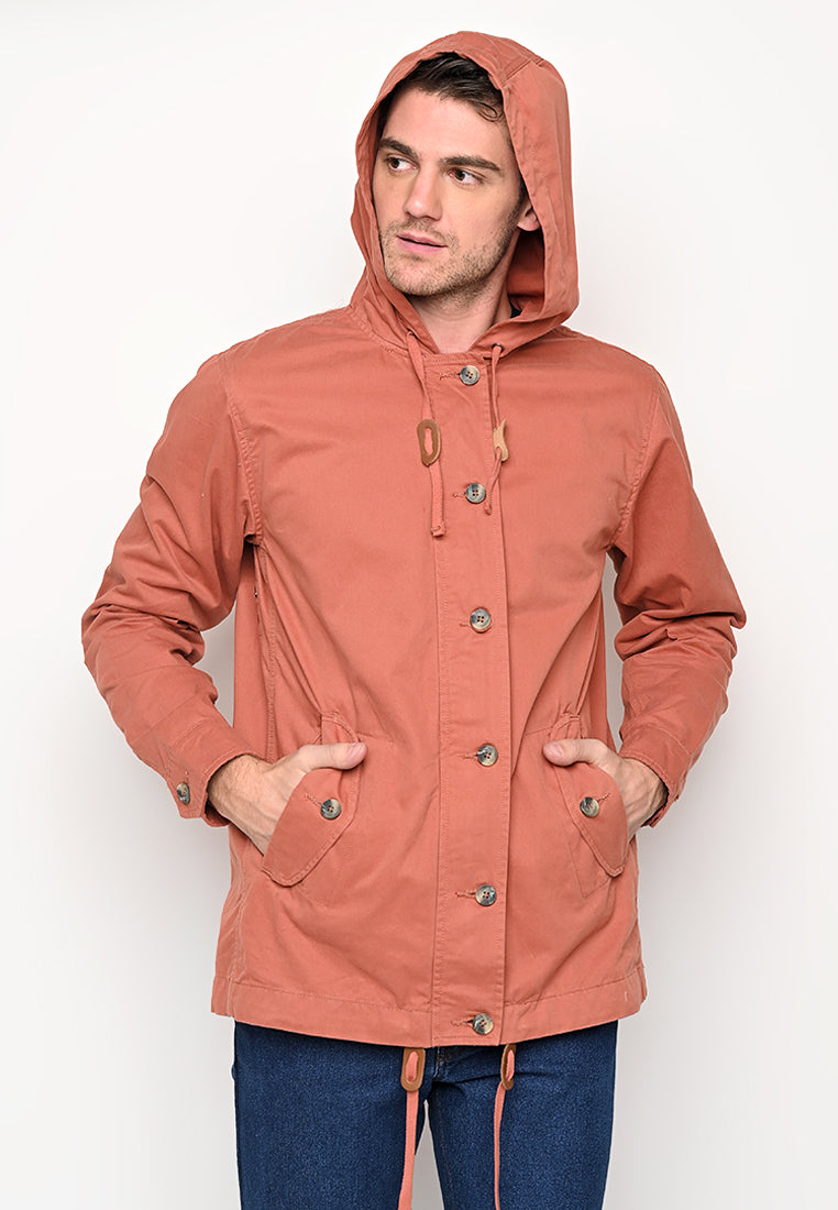Rainly Parka In Brick