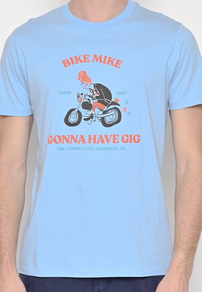 Bike Mike T-Shirt Mint