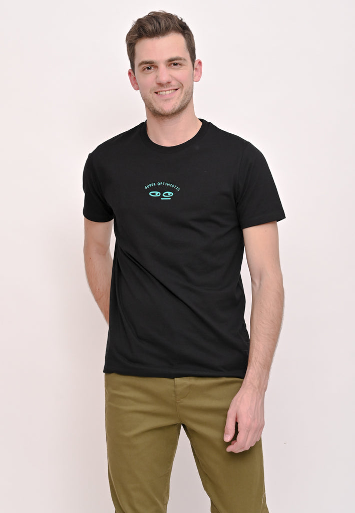 Super Optimistic Tee Black