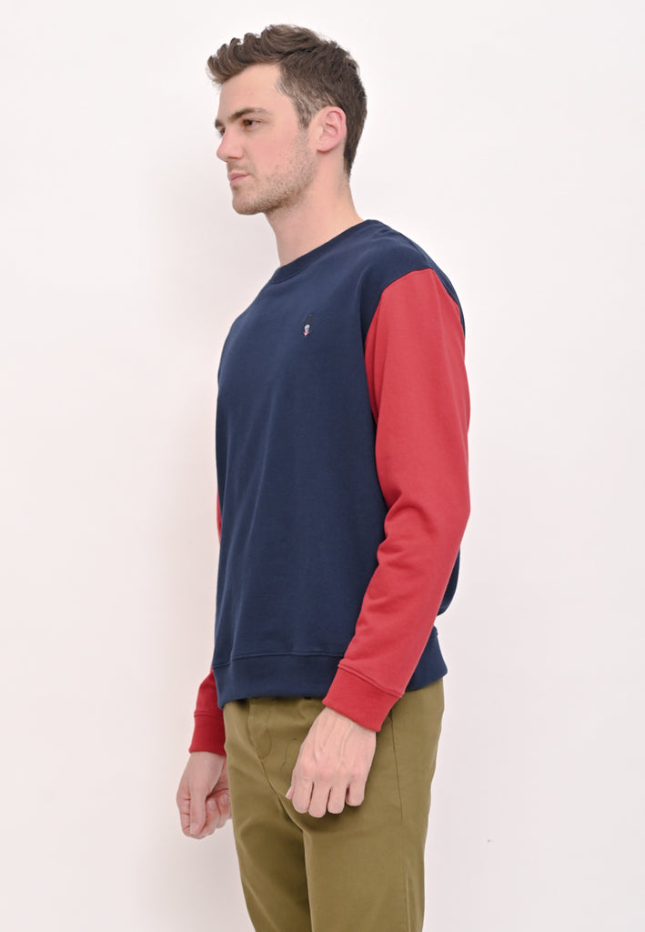 Guardian Oversize Pullover In Red