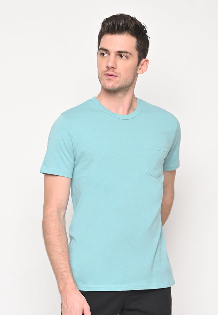 Uniform Crew Neck Pocket T-Shirt Flyers in Mint