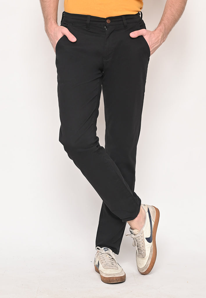 Truman Uniform Cotton Twill Long Pants T2 Black