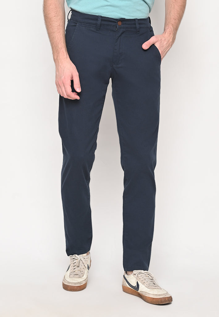 Truman  Uniform Cotton Twill Long Pants T3 Navy