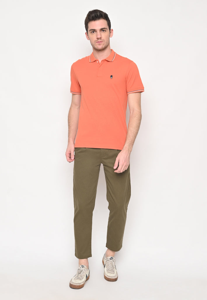 Guardian Classic Polo Shirt W1 In Peach