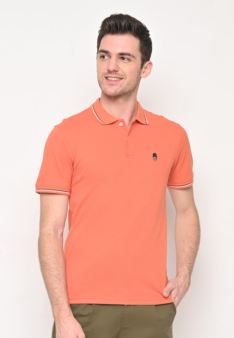 Guardian Classic Polo Shirt In Peach