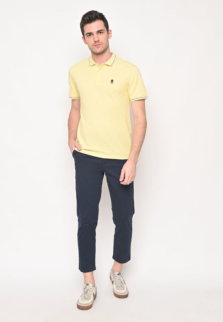 Guardian Classic Polo Shirt In Yellow