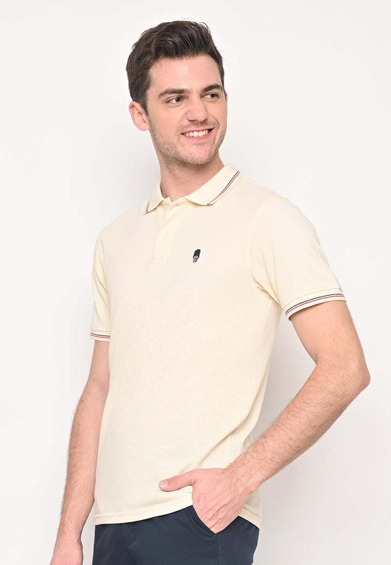 Guardian Classic Polo Shirt In White