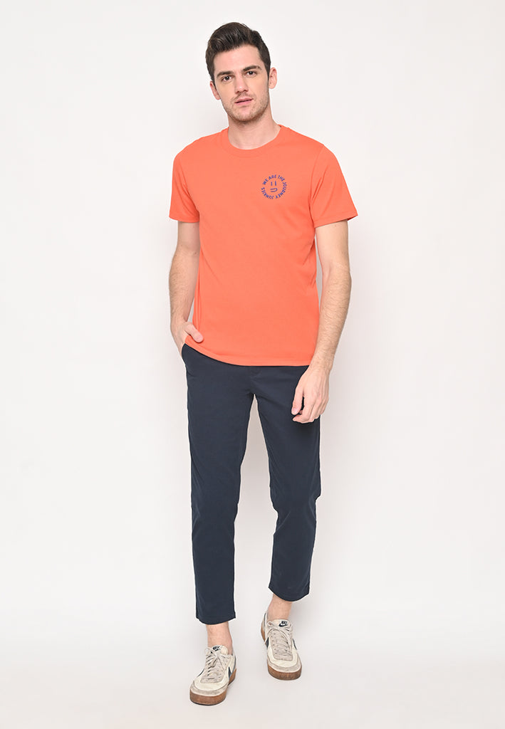JJ Smiley Tee Orange
