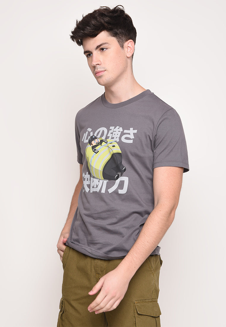 Tuby Police Grey T-Shirt