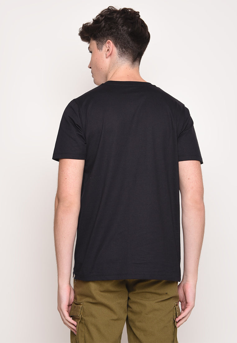 Skelly Dream Low in Black Graphic T-Shirt