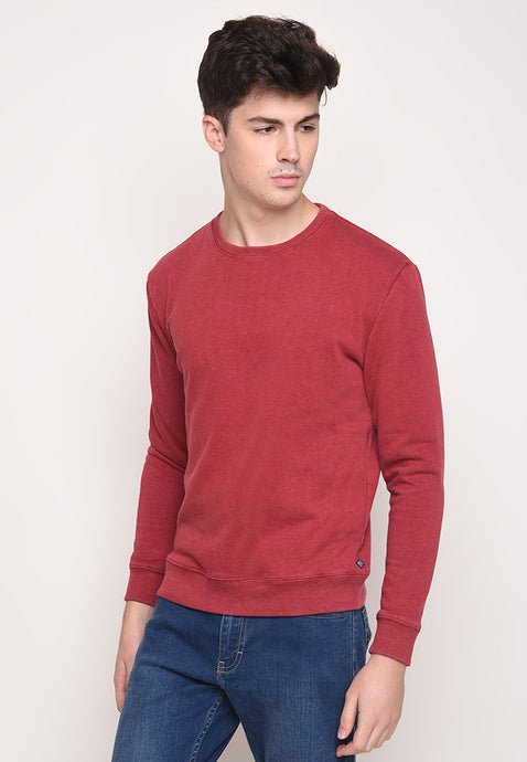 Dave Pullover in Red
