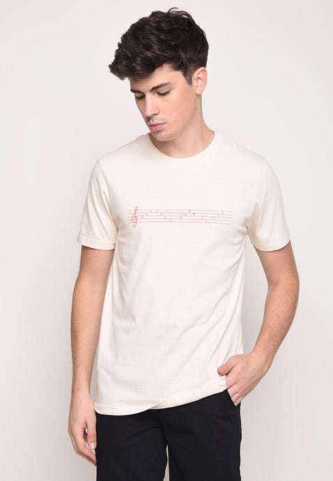SKELLY CANT HAVE IT TEE OLD ENGLISH IN CREAM