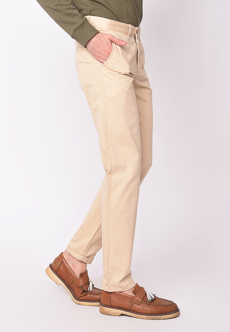 Kennedy Pants Twill in Beige