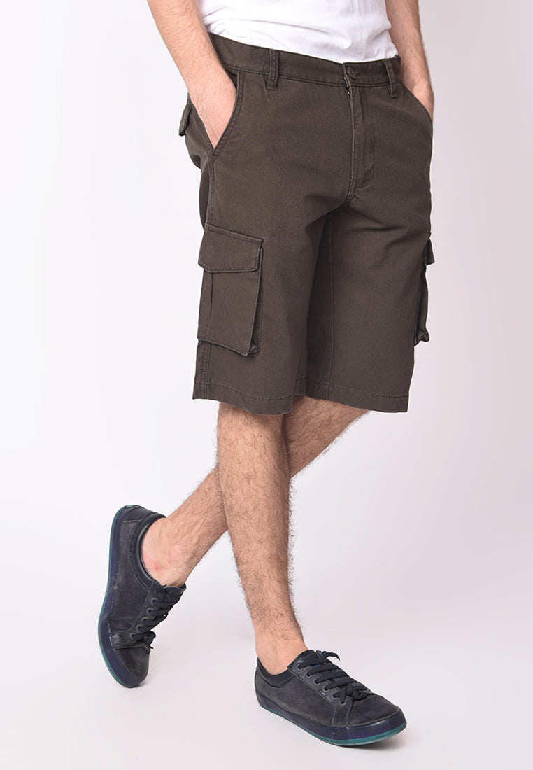 Cargo Short in Dark Grey