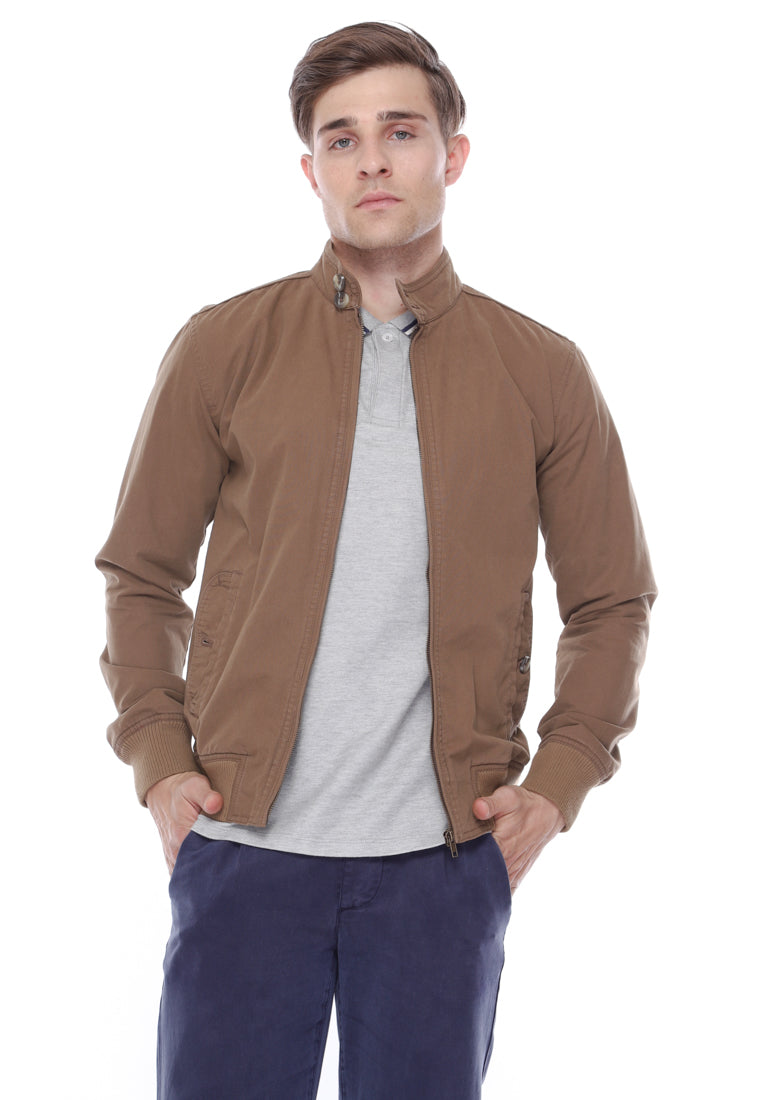 Harrington Jacket In Brown