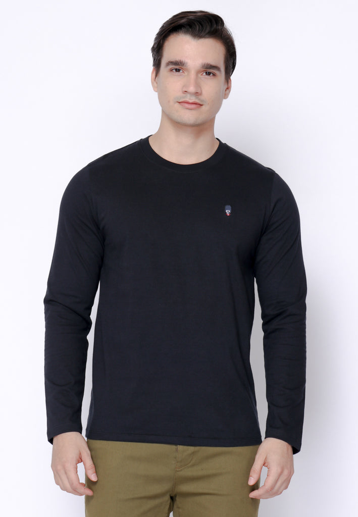 Guardian Basic Tee LS Black
