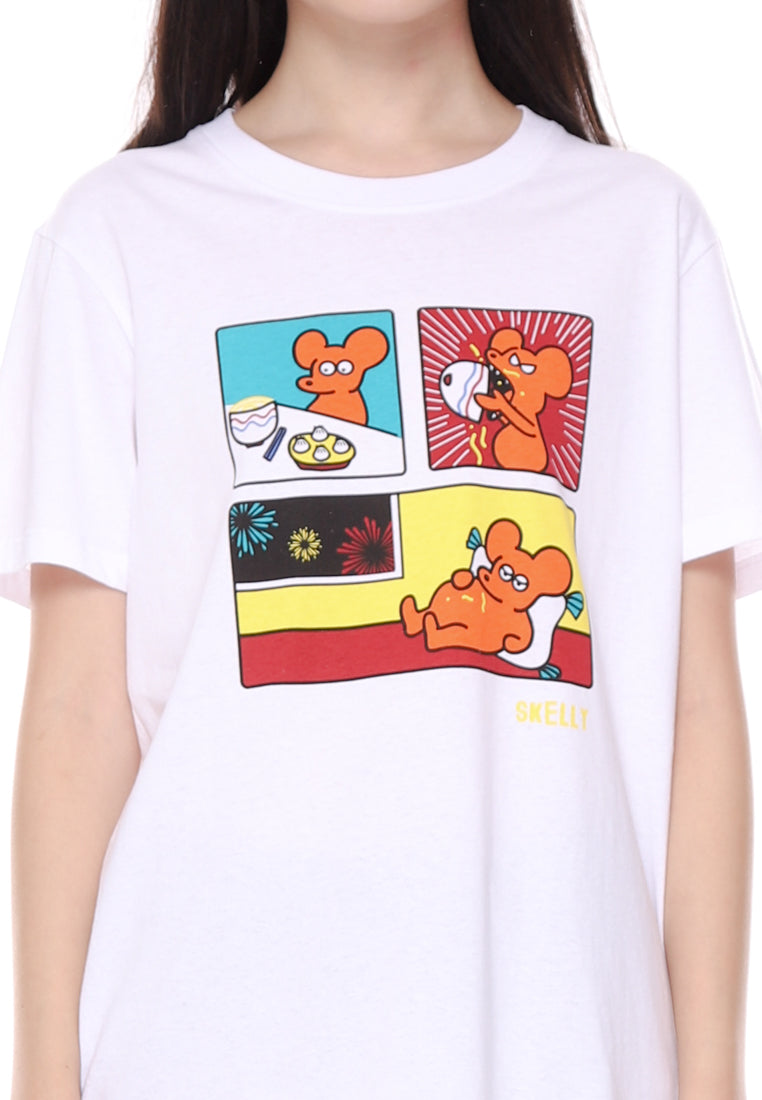 Rat Comic Graphic T-shirt Special Ladies