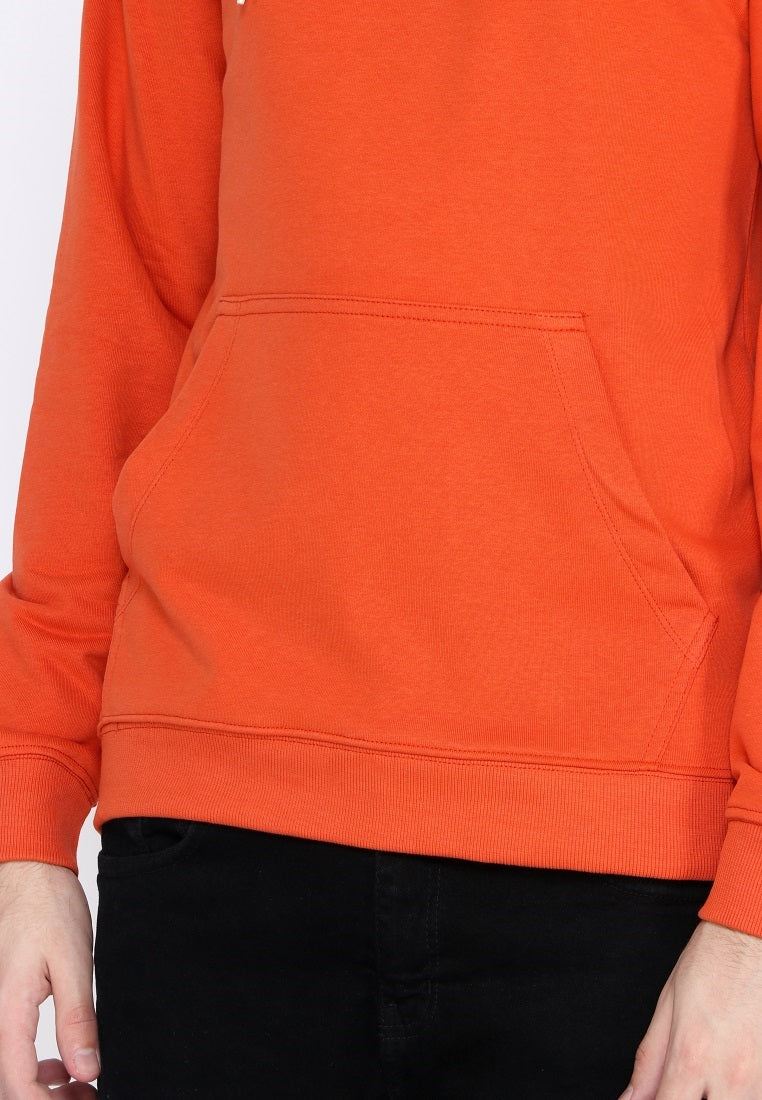 Line Of Ox Hoodie Orange