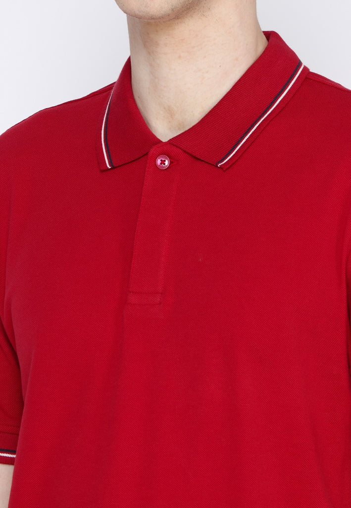 Uniform Classic Polo Shirt W2 In Red