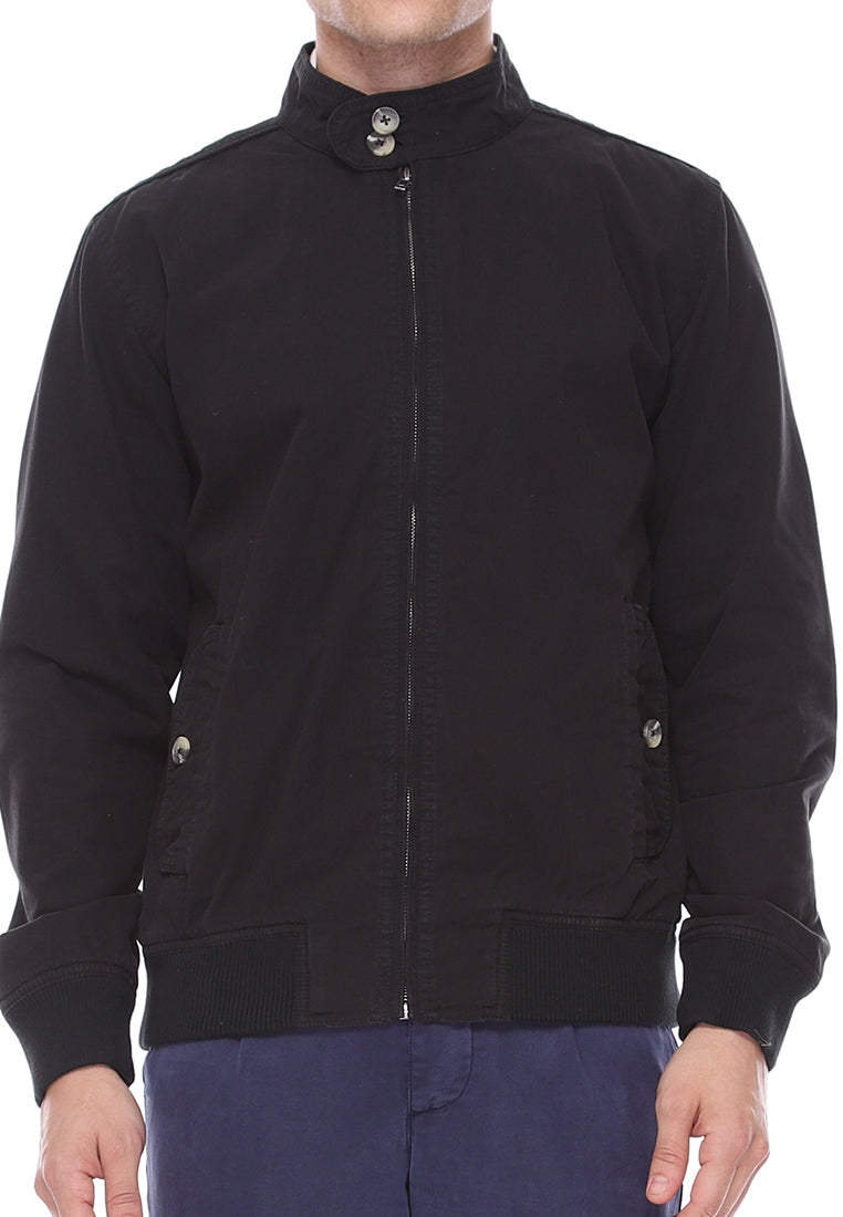 Harrington Jacket In Black