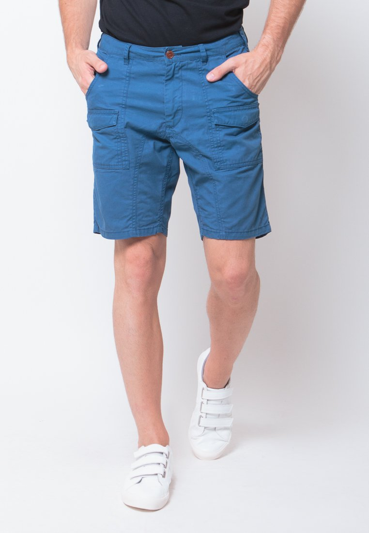Alvin Shorts in Blue - Skelly Indonesia - The Original Graphic Tees, Comfortable Basic - www.skellyshop.co.uk
