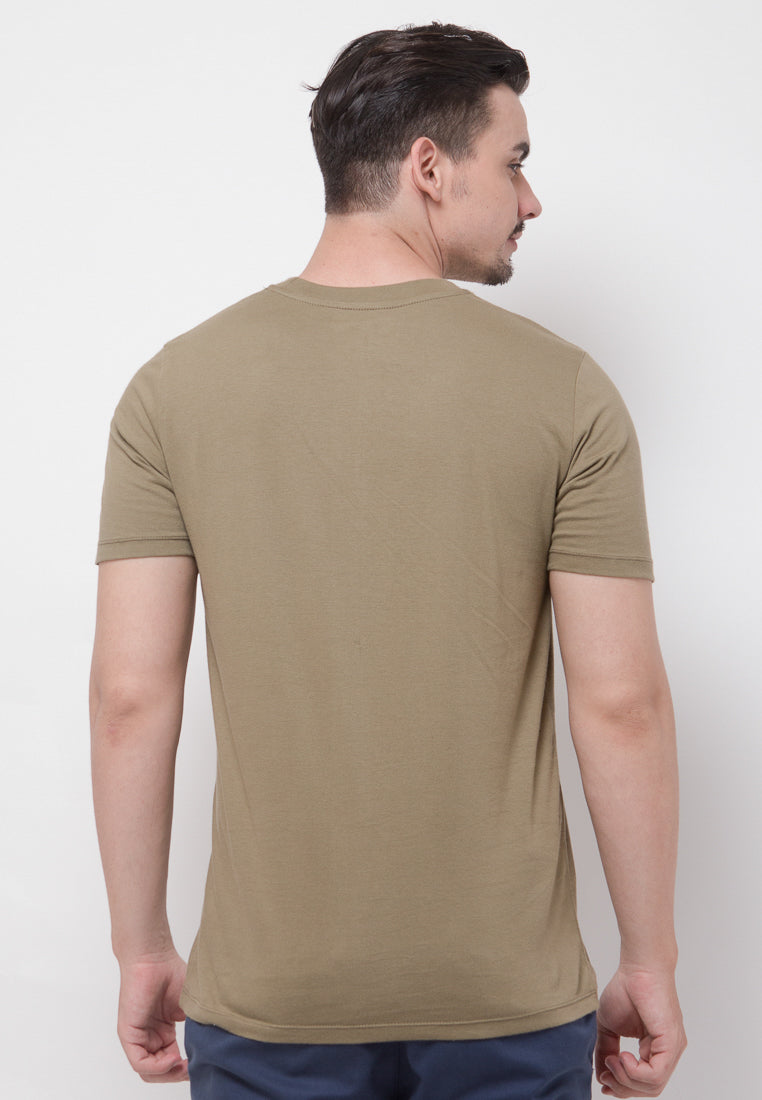 UK Flash Graphic T-shirt in Olive - Skelly Indonesia - The Original Graphic Tees, Comfortable Basic - www.skellyshop.co.uk