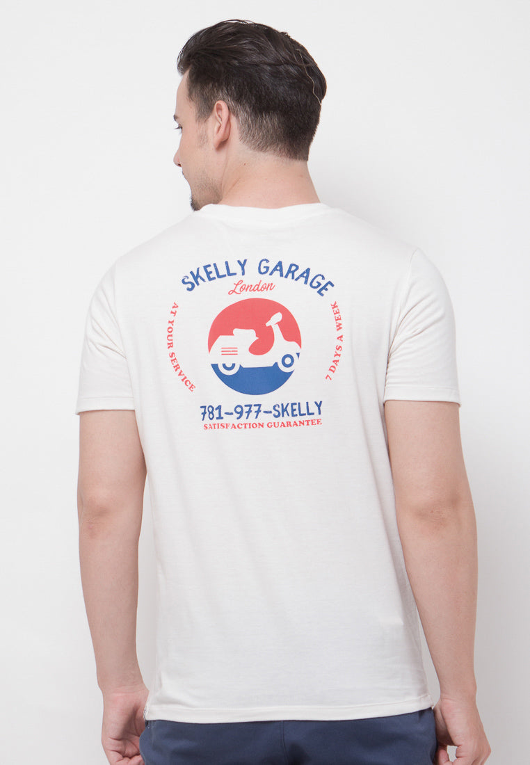 Skelly Garage Graphic T-shirt - Skelly Indonesia - The Original Graphic Tees, Comfortable Basic - www.skellyshop.co.uk