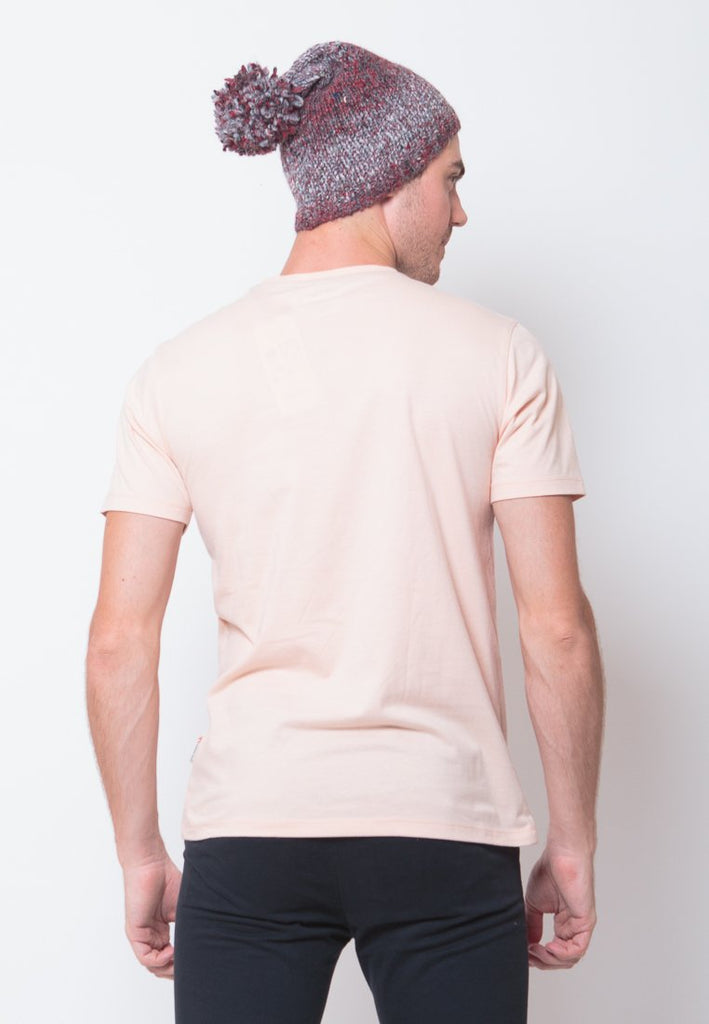 Tuby Guard Graphic T-shirt in Peach - Skelly Indonesia - The Original Graphic Tees, Comfortable Basic - www.skellyshop.co.uk