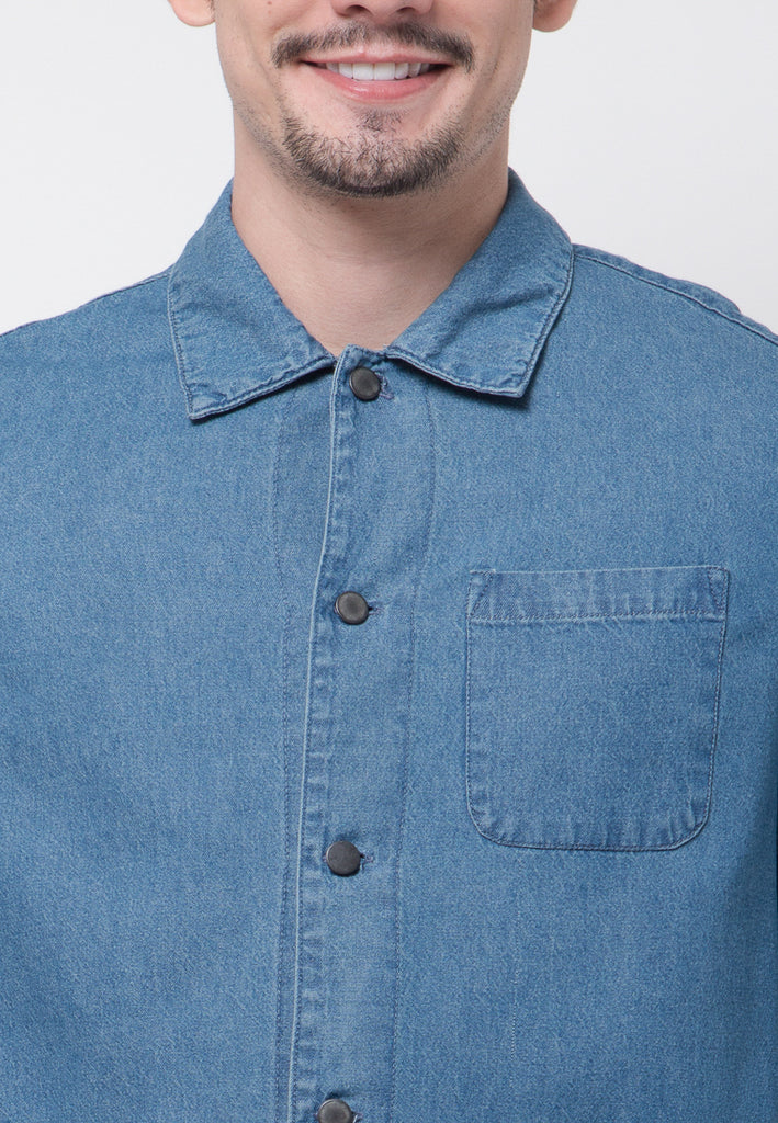 Herb Denim Jacket - Skelly Indonesia - The Original Graphic Tees, Comfortable Basic - www.skellyshop.co.uk