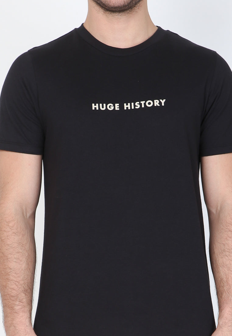 Huge History In Black Graphic T-Shirt