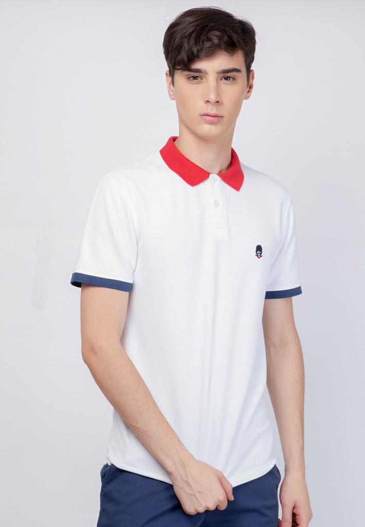 Guardian Polo Key Shirts White