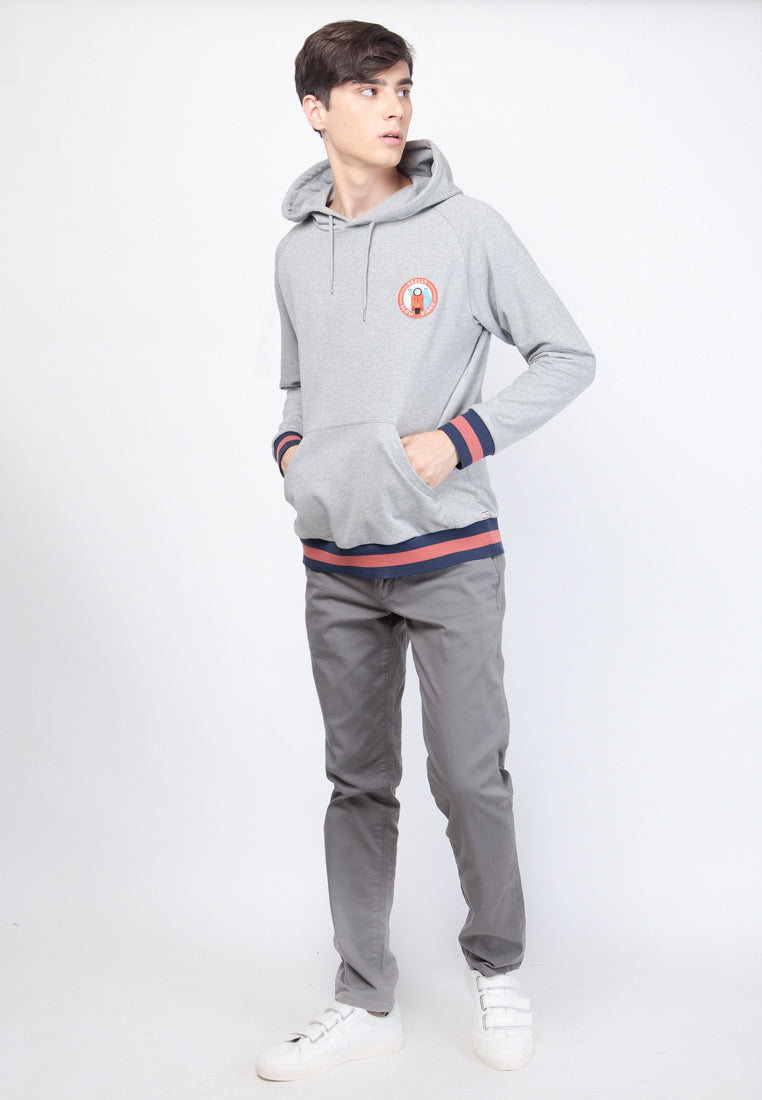 Slow Rider Club Hooded Sweatshirts in Heather