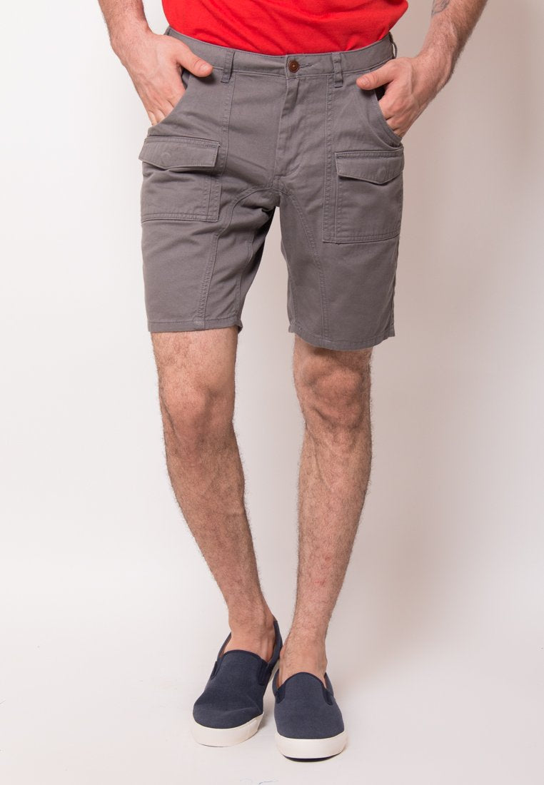 Alvin Shorts in Dark Grey - Skelly Indonesia - The Original Graphic Tees, Comfortable Basic - www.skellyshop.co.uk