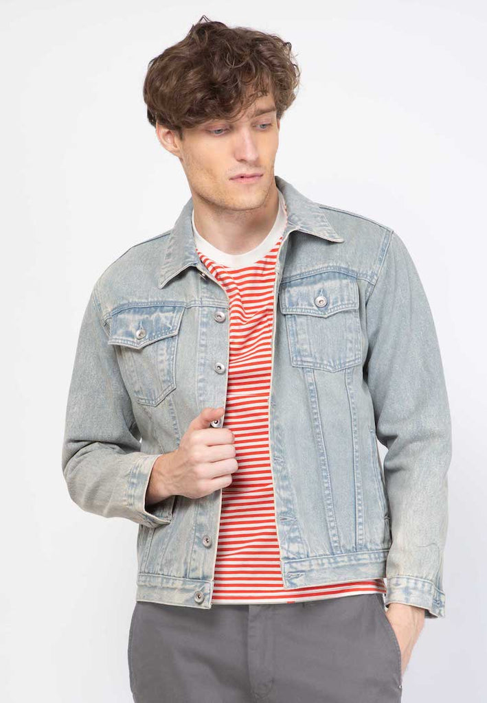 Tim Denim Jacket Ice Wash