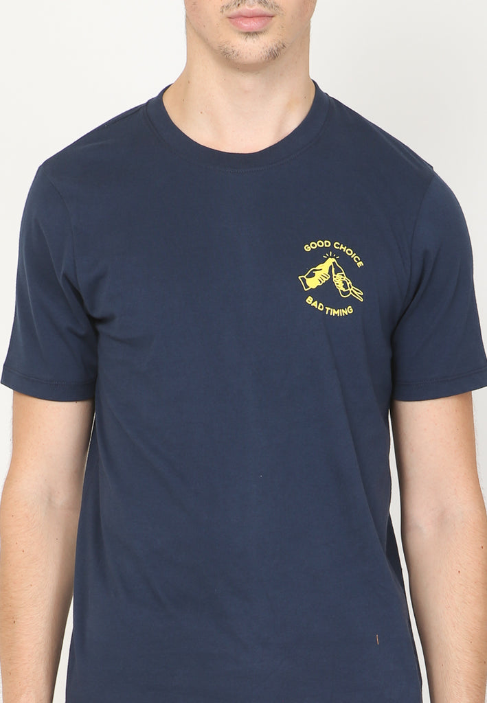 Good Choice Graphic T-Shirt In Navy