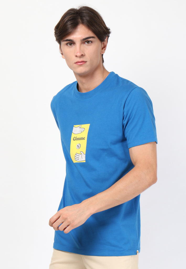 Gimme Five T-Shirts in Blue