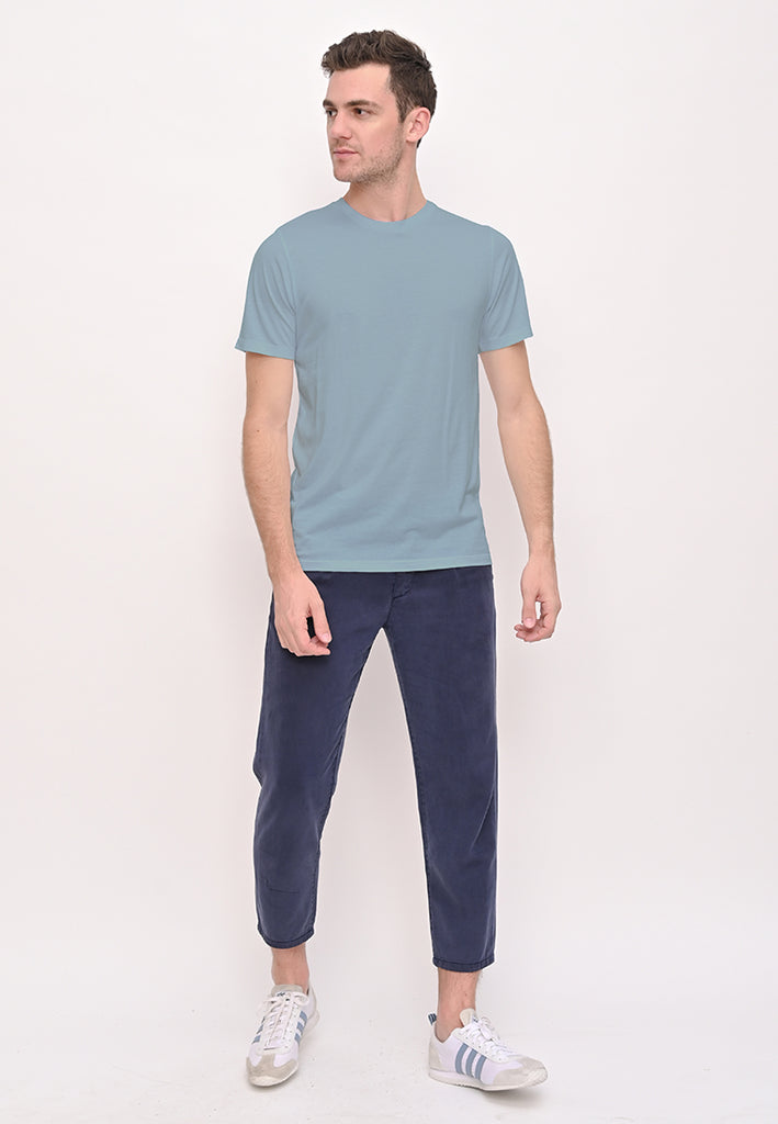 The Inventory Crew Neck Arona Blue T-Shirt