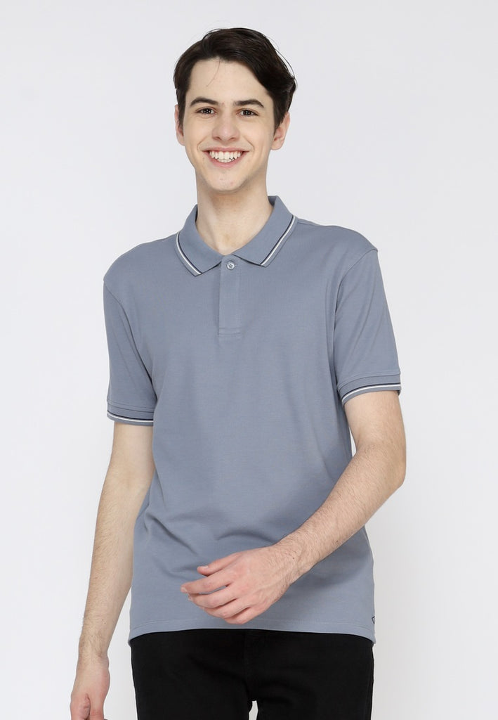 Uniform Classic Polo Shirt W2 In Dusty Blue